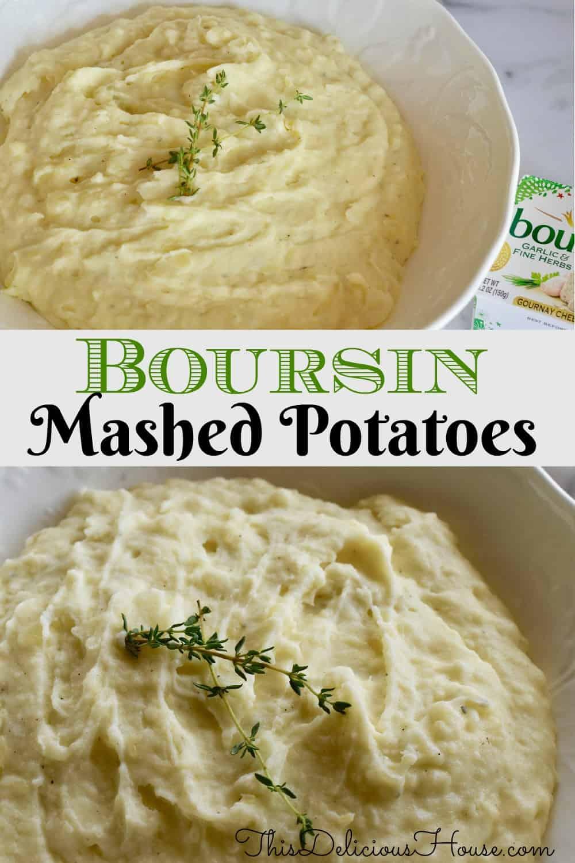 Boursin Mashed Potatoes