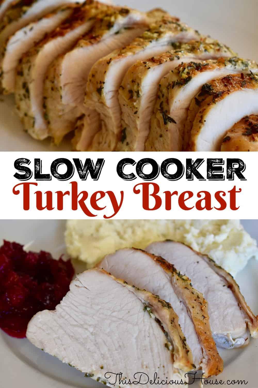 Slow Cooker turkey breast.