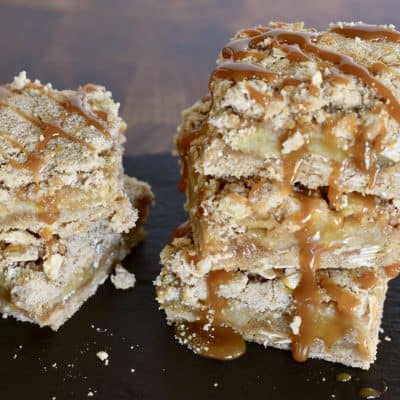 Fresh Apple Caramel Squares