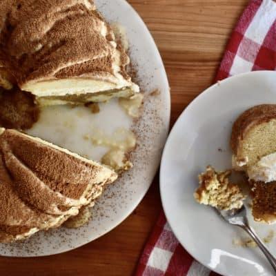 Tiramisu Bundt Cake | Mascarpone & Kahlua