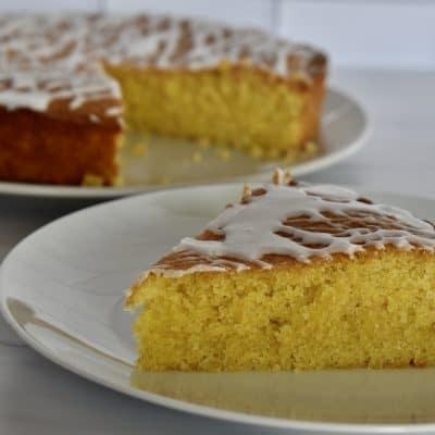 Lemon Polenta Cake   Gluten Free Lemon Cake